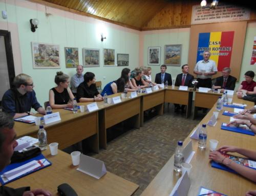 """Școala de vară """"Republica Moldova și vecinii ei – spații de frontieră și dezvoltare regională"""""""