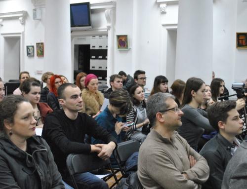 """Întâlnirea cu scriitorii Julia Wolf, Germania, și Bogdan Coșa, România, la Biblioteca """"B.P. Hasdeu"""""""